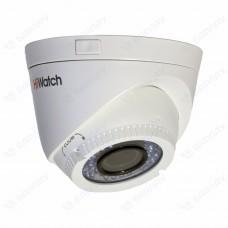 Купольная HD-TVI видеокамера HiWatch DS-T109
