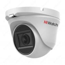 Купольная HD-TVI видеокамера HiWatch DS-T203A