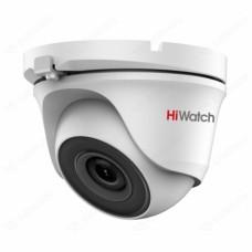 Купольная HD-TVI видеокамера HiWatch DS-T503(B)